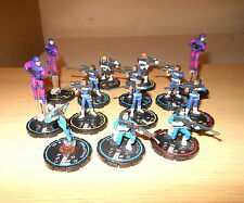 Heroclix Marvel : Large SHIELD Army team lot  set : Sniper, Medic , Trooper (14)