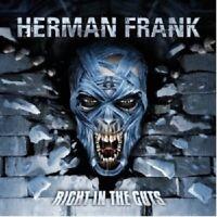 "HERMAN FRANK ""RIGHT IN THE GUTS"" CD NEUWARE"
