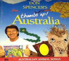 Don Spencer's Thumbs Up! Australia CD Super Rare 1993 Lizards Of Oz ABC For Kids