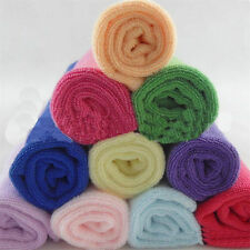 5pcs/Lot Soft Fiber Cotton Face Washers Hand Cloth Towels Washcloth new