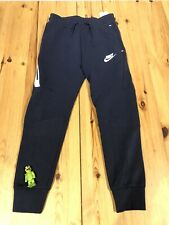 Nike Sportswear Tech Fleece Jogger Pants Black/white 804818 Boy's Size Medium