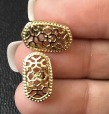 2018 Gold studs  Earrings Kendra + Chloe Design by Isabel Scott Filigree