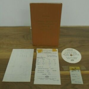 Manual For The Garrard Model 301 Transcription Motor With Extras In Envelope