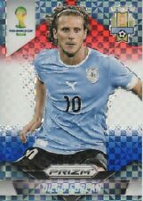 2014 Panini Prizm World Cup Soccer Red White Blue #192 Diego Forlan Uruguay