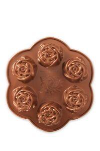 NWT NEW Nordic Ware®  Rosebud Cake Pan HEAVY CAST ALUMINUM
