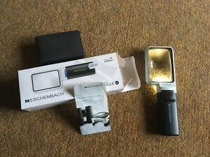 ESCHENBACH Mobilux LED Illuminated Magnifier 3.5x 10D 250 Magnifying Glass