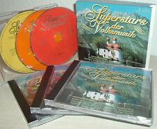 SUPERHITS DER VOLKSMUSIK  -  3 CD-Box   FLIPPERS, WILDECKER HERZBUBEN, HEINO uva