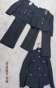 Tahari Pant suits Size 2P lot of 4