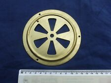 Large Circular Open Slot Brass Air Flow Grille Ventilation Cover