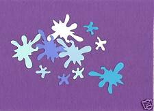 SPLASH water beach die cuts scrapbook cards