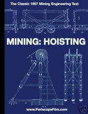 VINTAGE 1907 MINE ENGINEERING Mining: Hoisting BOOK   MINING RAILROADS