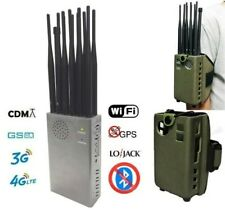 GSM / CDMA / GPS / 3G / 4G / Lojack / WIFI / VLan / Bloker Jammer ( 8 Antenne )