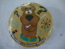 NEW Scooby Doo ScoobyDoo Magic Towel Wash Cloth Washcloth Cotton Round Expands