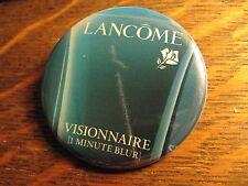Lancome Visionnaire Wrinkle Skin Cream Advertisement Pocket Lipstick Mirror