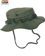 Kombat Green US Army GI style Boonie/bush jungle hat compliments ATACS