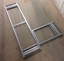 Ikea Galant Desk Frame for Corner Table Top Silver 600.568.81 Pre-Owned