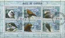 Timbres Oiseaux Rapaces Mozambique 2342/7 o année 2007 lot 23367 - cote : 12 €