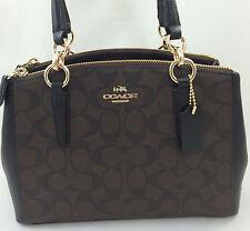 New Coach F36619 F58291 Small Christie Carryall Satchel Handbag Purse Bag PVC