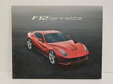 Ferrari F12 Berlinetta Brochure