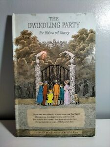The Dwindling Party By Edward Gorey Vintage Pop Up Book 1st Edition 1982
