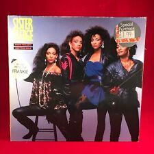 SISTER SLEDGE When The Boys Meet The Girls 1985 vinyl LP EXCELLENT CONDITION