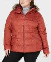 Columbia Womens Plus Size Lake Insulated Jacket Brown Size 2X