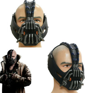 Bane Cosplay Mask Batman PVC Helmet The Dark Knight Rises Costume Props Replica