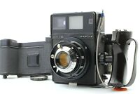 【EXC+++++】 Mamiya Press Super 23 Black + 100mm f3.5 Lens 2 Film Backs From JAPAN