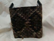 Western Diamondback Rattlesnake Skin Tri-Fold Wallet