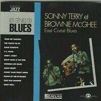 CD LES GÉNIES DU BLUES Vol 64 SONNY TERRY ET BROWNIE Nc GHEE 2115
