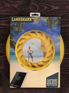 Landshark Castaway Friz-Beats Bluetooth Light Up Speaker / Light Up / Frisbee