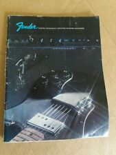 1973 Fender Catalogue....66 pages Guitars/Basses/Amps/Keyboards/Pedal Steel....