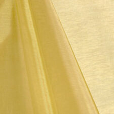 "GOLD SHEER MIRROR ORGANZA FABRIC 60"" WIDE  FOR WEDDING DRAPE DECOR"