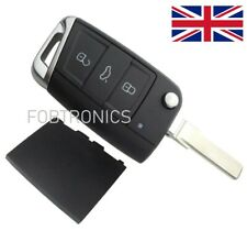 Replacement 3 Button Flip Key For VW Volkswagen Golf MK7 2012 A83