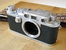 Leica IIIf Red Dial Rangefinder Camera Needs CLA