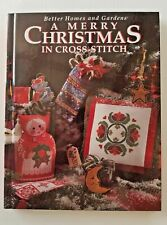 A Merry Christmas in Cross-Stitch Better Homes Gardens Book  1994 Hardcover