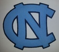 """North Carolina UNC Tar Heels~Embroidered Applique PATCH~4"""" x 3 5/8""""~Iron or Sew"""