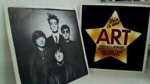 """the soup dragons – this is our art- 12"""" vinyl, lp, album, stereo- Sire – WX 169"""