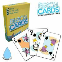 Beach Cards - Waterproof Family Holiday Playing Cards - Brand New & Sealed