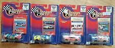 Lot of 4, 1998 Winner's Circle 50th Anniversary Dale Earnhardt and Jeff Gordon