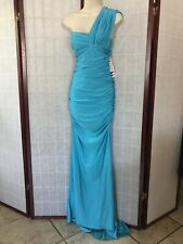 Prom Dress Atria Clothing Couture Backless Turquoise Blue Sky Sexy Formal Large
