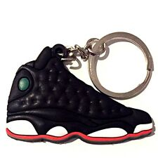 AIR JORDAN XIII 13 RETRO PLAYOFF BLACK BRED SNEAKERS SHOES KEY CHAIN RING HOLDER