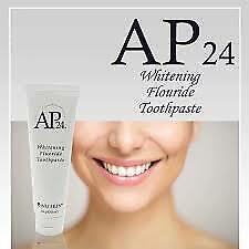 2 X NEW ORIGINAL Nu Skin AP-24 Whitening Fluoride Toothpaste 110g /4oz