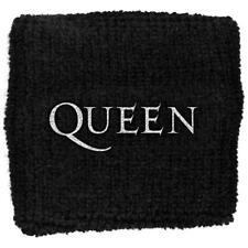 OFFICIAL LICENSED - QUEEN - LOGO SWEATBAND/WRISTBAND ROCK FREDDIE MERCURY
