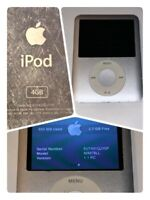 Apple iPod Nano 3rd Generation A1236 4GB Silver Used