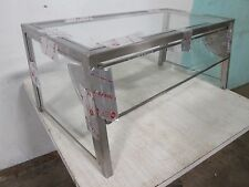 Hd Commercial Counter Top Glass Sneeze Guard Withfront Flip Up Panels