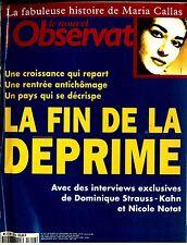 Maria Callas. Le Nouvel Observateur n°1712, 1997.