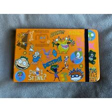 Nickelodeon Retro 90s Nicktoons Portable Travel Pocket Hardcover Sticky Note Set