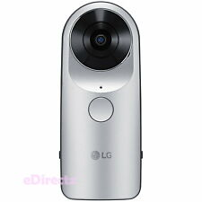 LG G5 Friends 360 CAM Portable Spherical Camera 13MP 2K Video LG-R105 Silver