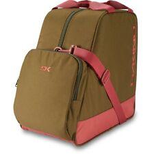 Dakine Boot Bag 30L Ski and Snowboard Boots Bag Dark Olive Green / Dark Rose New
